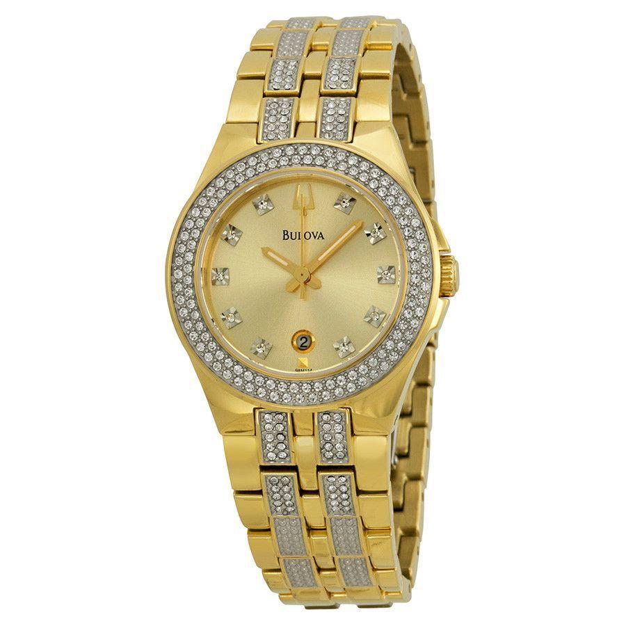 Ceas de damă Bulova Crystal 98M114