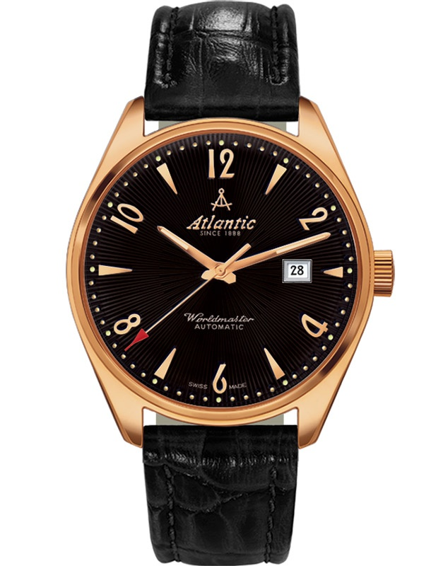 Ceas barbatesc Atlantic Worldmaster Art Deco 51752.44.65R