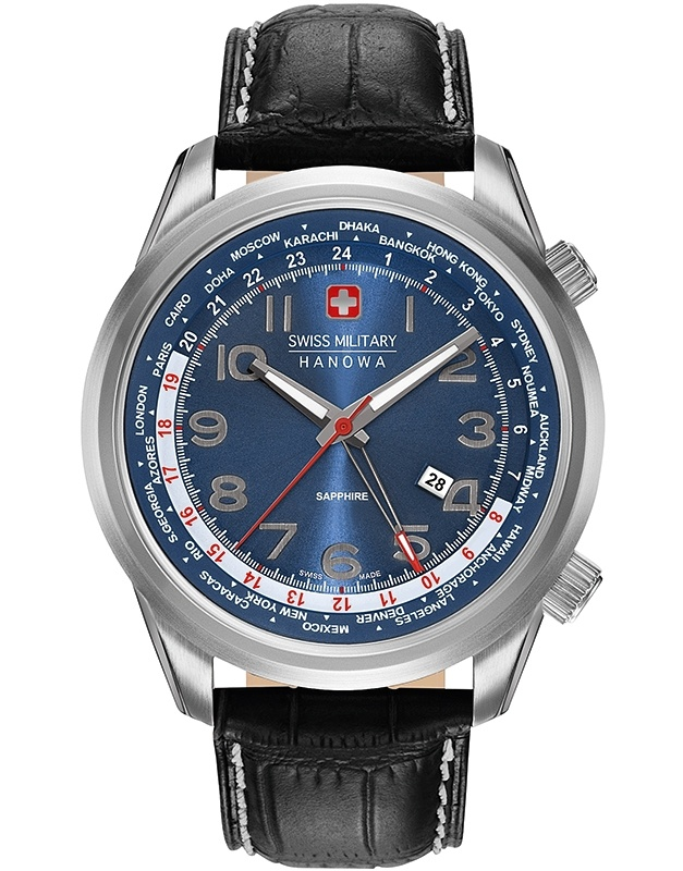 Ceas barbatesc Swiss Military Worldtimer 06-4293.04.003