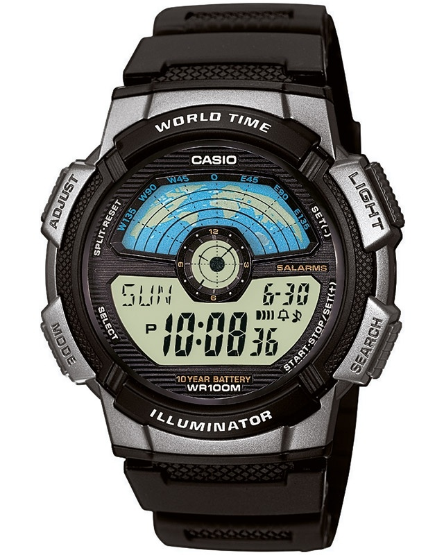 Imagine Ceas Barbatesc Casio Collection Ae - 1100w 1avef