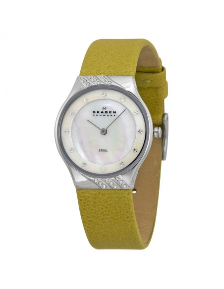 Ceas de dama Skagen Leather 635SSLGR