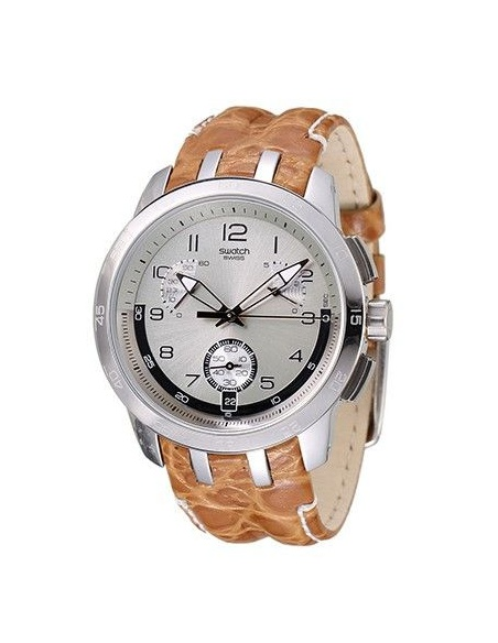Ceas barbatesc Swatch Sand Structure YRS401