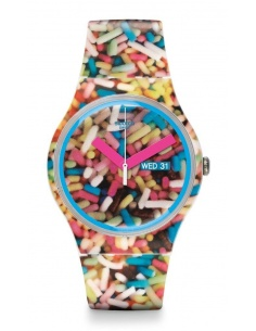 Ceas de dama Swatch Sprinkled SUOW705