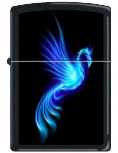 Bricheta Zippo 0249 Phoenix-Burning Blue