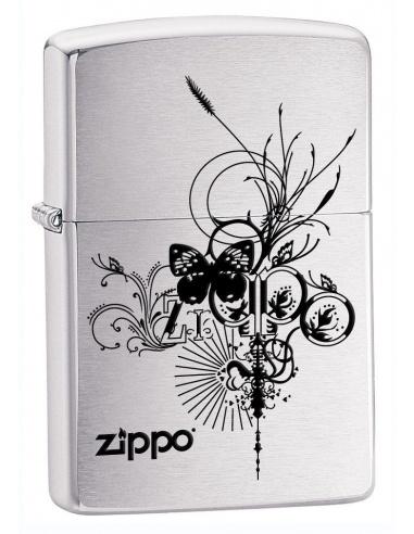 Bricheta Zippo Butterfly-Artsy Design 24800