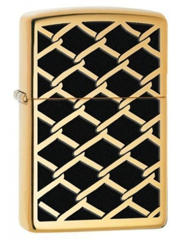 Bricheta Zippo Chain Link Fence Design 28675
