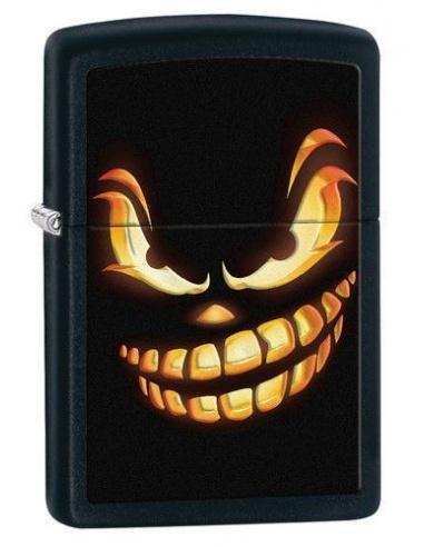 Bricheta Zippo Scary Jack O Lantern 28439