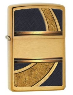 Bricheta Zippo Gold & Black Design 28673