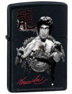 Bricheta Zippo Bruce Lee-the Dragon 8234