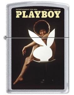 Bricheta Zippo Playboy Cover-October 1971 2035