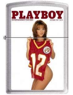 Bricheta Zippo Playboy Cover-October 1996 4763