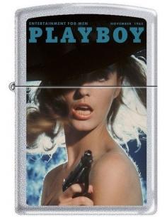 Bricheta Zippo Playboy Cover-November 1965 2031