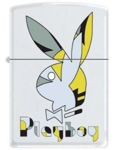 Bricheta Zippo Playboy Bunny Logo 3571