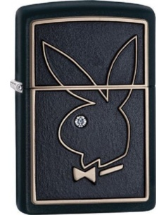 Bricheta Zippo Playboy Bunny Logo 28816