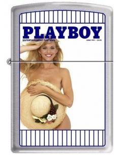 Bricheta Zippo Playboy Cover-June 1991 4761