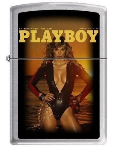 Bricheta Zippo Playboy Cover-March 1977 4758
