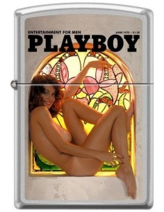Bricheta Zippo Playboy Cover-June 1975 0711