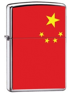 Bricheta Zippo China Flag 7967