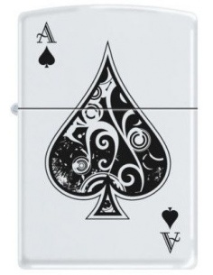Bricheta Zippo Vintage Ace of Spades 9131