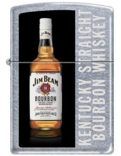 Bricheta Zippo Jim Beam Bourbon Whiskey 7791