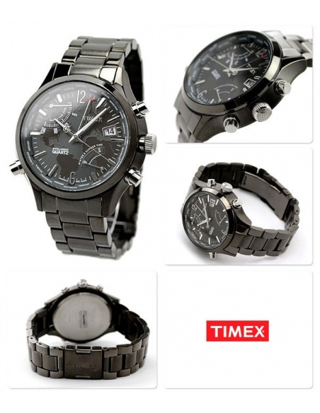 Ceas barbatesc Timex IQ World Time T2N946