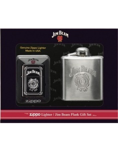 Bricheta Zippo Jim Beam 28414 - Set cadou