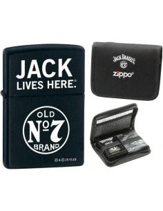 Bricheta Zippo Jack Daniels 28014 - Set cadou