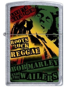 Bricheta Zippo Bob Marley Reggae 7386