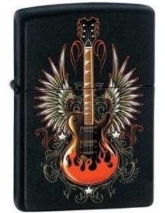Bricheta Zippo Winged Guitar 0411