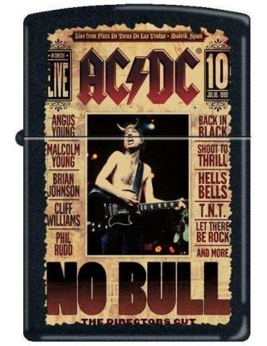 Bricheta Zippo AC/DC NO BULL 5918