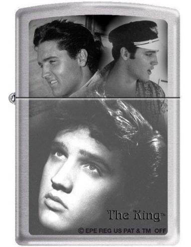 Bricheta Zippo Elvis Presley The King 5776