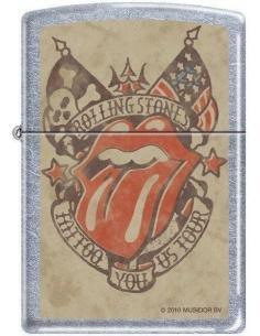 Bricheta Zippo Rolling Stones Tattoo You US Tour 3659