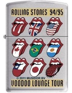Bricheta Zippo Rolling Stones Voodoo Lounge Tour 8596