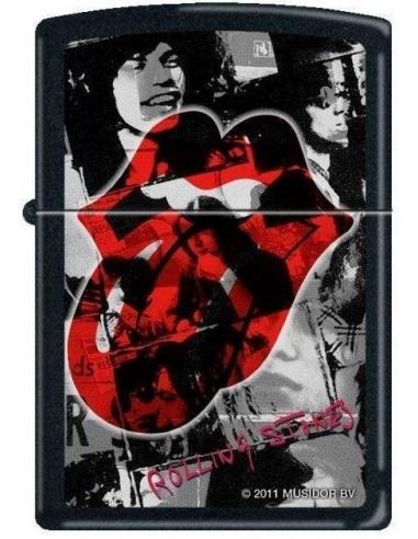 Bricheta Zippo Rolling Stones Logo 6510