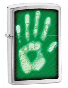 Bricheta Zippo Identity-Hand Print 28283