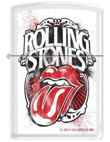 Bricheta Zippo Rolling Stones Logo 3650
