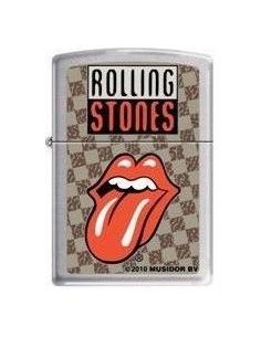 Bricheta Zippo Rolling Stones Tongue Logo 0321