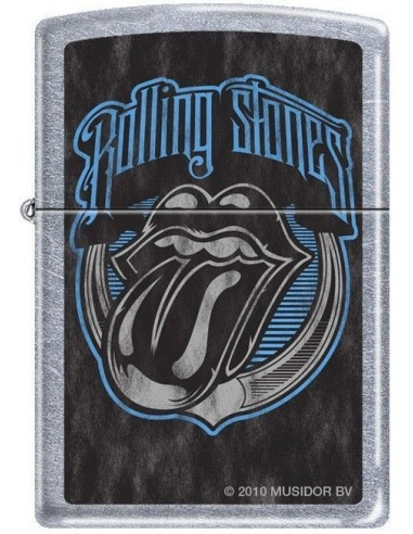 Bricheta Zippo Rolling Stones Tongue Logo 3652