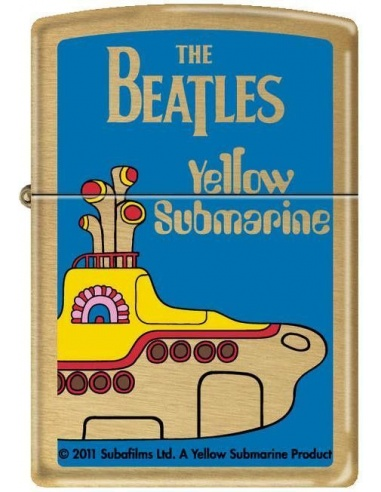 Bricheta Zippo The Beatles - Yellow Submarine 6252