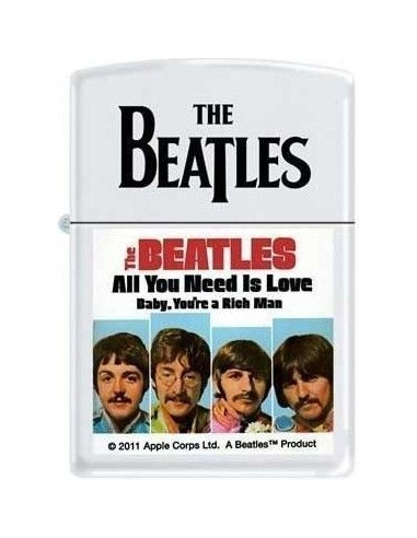 Bricheta Zippo The Beatles - All You Need Is Love 6684