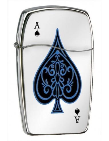 Bricheta Zippo Blu-Ace of Spades 30047