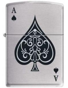 Bricheta Zippo Vintage Ace of Spades 8897