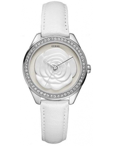 Ceas de dama Guess White Flower W75043L1