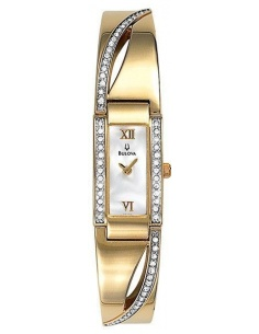 Ceas de dama Bulova Mother of Pearl Dial 98V28
