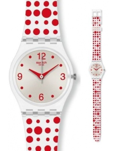 Ceas de dama Swatch Red Darling LK318