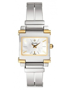 Ceas de dama Bulova Bangle Two-tone 98L002
