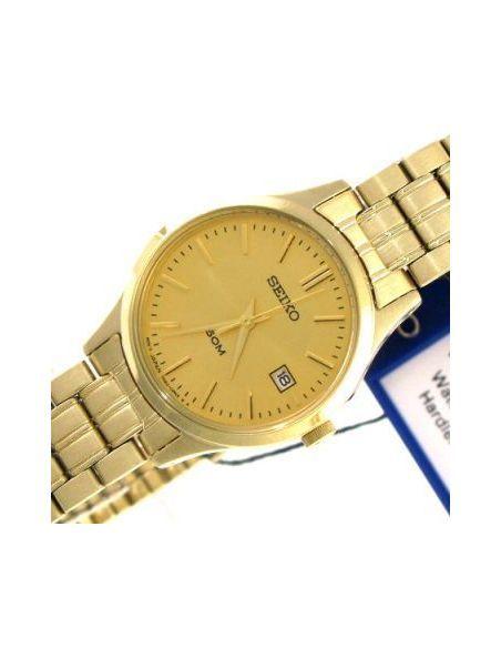 Ceas de dama Seiko Gold-Tone SXDC40