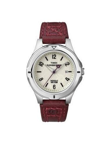 Ceas de dama Timex Expedition Burgundy T49855