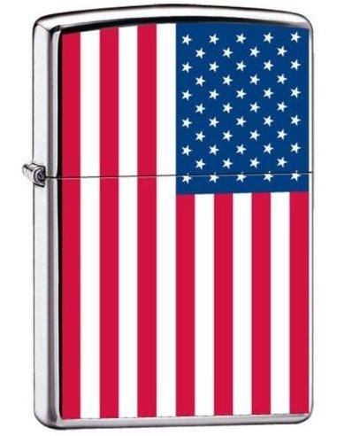 Bricheta Zippo 7959 USA-United States Flag