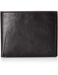 Portofel barbatesc negru Fossil Ingram ML3447001